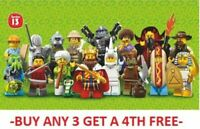 GENUINE LEGO MINIFIGURES SERIES 13 71008 PICK CHOOSE YOUR OWN + BUY 3 GET 1 FREE