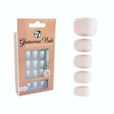 W7 Glamorous Nails Stick On Nails - French Nails 02 - False Fake Ombre White