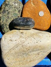 New Listing30 lbs Lot #1 Extra Extra Large Xxl Colorful River Rocks Water Feature Landscape