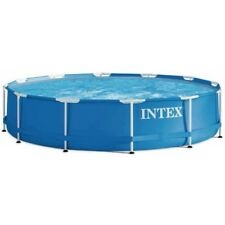 Intex Aufstellpool Frame Pool Set Rondo Swimmingpool blau 366 x 76 cm
