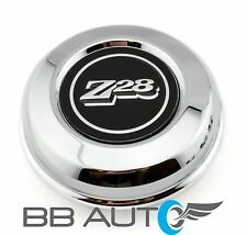 "NEW 70-81 CAMARO Z28 15"" 5 SPOKE MAG STEEL WHEEL STAINLESS STEEL CENTER CAP"