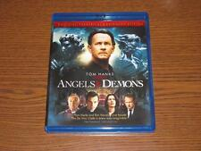 Angels & Demons (Blu-ray Disc, 2009, 3-Disc Set, Theatrical & Extended Editions)