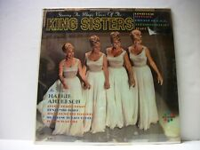 Starring The Magic Voices Of The King Sisters~RARE LP