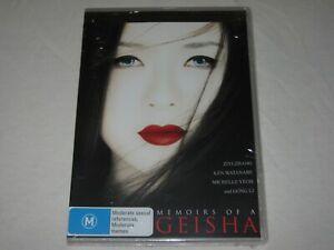 Memoirs Of A Geisha - Ken Watanabe - Brand New & Sealed - Region 4 - DVD