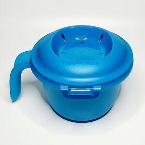 Cuiseur solo Individuel Riz Micro-ondes Bleu Turquoise - Excellent État Pâtes