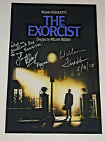 THE EXORCIST CAST SIGNED X2 AUTOGRAPHED 12X18 PHOTO POSTER EXACT PROOF QUOTE