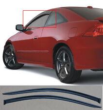 Fit 03-07 Honda Accord CM 2D/2DR Coupe Rain Guard Vent Deflector Window Visor