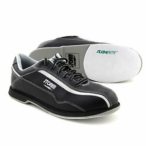 Men's Bowling Shoes Storm Volkan Black Silver Size 40,5