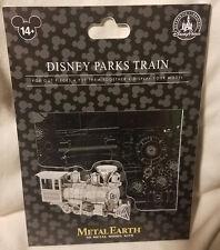 Disney Parks Train Walter E Disney Metal Earth 3D Model Kits - NEW