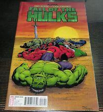 Fall of the Hulks Alpha #1 Ed McGuinness Variant Red Hulk Skaar A-Bomb She Hulk
