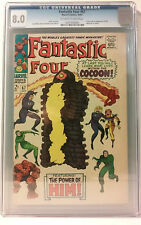 Fantastic Four #67 CGC 8.0 (1967, Marvel) first appearance of Warlock