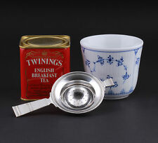 Grann & Laglyes Silver Tea Strainer. OLD STAMPS, 1935. Three Tower. VERY RARE!