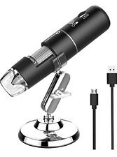 Wireless Hd Digital Microscope 50x 1000x Magnification Iosandroidmacwindows