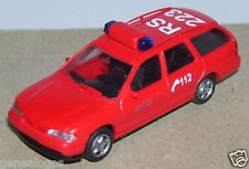 MICRO RIETZE HO 1/87 FORD MONDEO GHIA CLIPPER FEUERWEHR 112 RS223 FIRE POMPIERS
