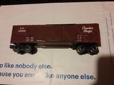 Williams 24859 Crown Edition Canadian Pacific Stock Car 1983 Train Box Car