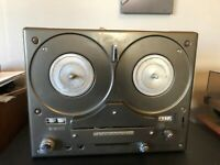 Vintage Tandberg 64X Tube Reel-to-Reel Tape Recorder BEAUTIFUL CONDITION Wood! 2