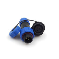 3Pin Waterproof Connector IP68 High-voltage Connector Power Cable Connector