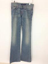 Rock & Republic Women's Size 25 Bootcut Jeans Rhinestone Back Pockets