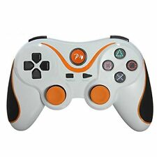 WHITE WIRELESS BLUETOOTH GAMEPAD REMOTE CONTROLLER JOYSTICK FOR PS3