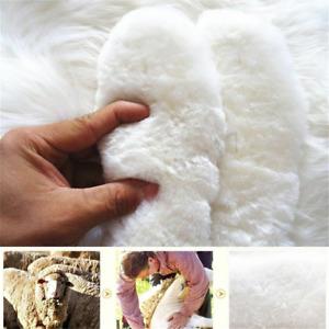 Women Winter Warm Boots Sneaker Shoe Insoles Fleece Inner Soles Wool Insert US