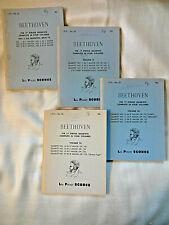 Beethoven 17 String Quartets in 4 volumes, Lea Pocket Scores.  Complete set