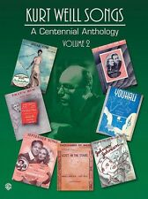 Kurt Weill Songs A Centennial Anthology Volume 2 Sheet Music PVG 000321572