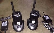 2 Tested Radios RELM RPU416B 470 - 490 Mhz Charger Battery Antenna EVERYTHING !