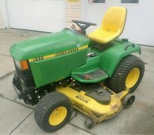 "John Deere 445 Riding Lawn Mower Tractor 60"" Inch Deck ie- 420 455 425"