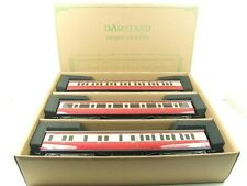 Darstaed O Gauge BR (Ex GWR) T/L Top Light Corridor Coaches x3 B/New Bxd Set A