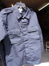 Brand New Tru Spec Tactical Uniform Shirt Dark Navy Medium Long (014)