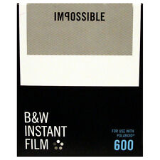 Impossible 600 Type BLACK AND WHITE Instant Film - Dated 05/2017