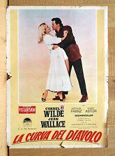LA CURVA DEL DIAVOLO fotobusta poster The Devil's Hairpin Wilde Wallace BV29