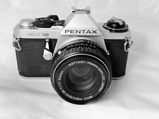 Pentax ME Super Film Camera, Pentax 50mm F.1.7 Lens, New Seals, Superb Condition