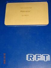 Modulator KSG 1300 Serviceunterlage, ca. 250 Seiten,  RFT / Funkwerk Köpenick