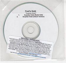 (GN995) Fool's Gold, Surprise Hotel - DJ CD