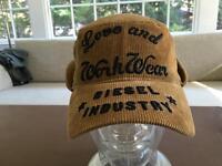 Diesel Baseball cap vintage style hat with ear flaps