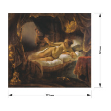 """wooden Pieces puzzle Jigsaw """"Danae"""" gift, Hermitage, Rembrandt 190 pcs"""