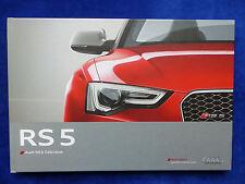 Audi RS 5 Cabriolet - Hardcover Prospekt Brochure 11.2012