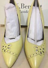 L.K. Bennet London High Heels Size UK 7 EU 40 Brand New Boxed Yellow