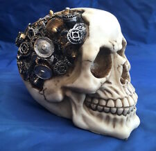 Steampunk Clockwork Cranium Skull Nemesis Now New Boxed Ornament Gothic Skeleton