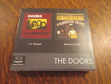 album 2 cd originals limited edition the doors L.A. woman + morrison hotel