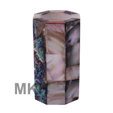 Pen Stand Marble Inlay Holder Desk Accessories Vintage Pencil Box Marquetry Gift