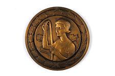 """Bronze Medal """"Souvenir de notre projection a la chambre"""" With Camara by Contaux"""