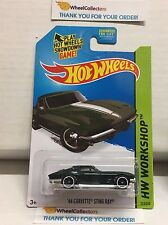 '64 Corvette Sting Ray #223 * Green Kmart * 2015 Hot Wheels * NA4
