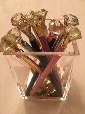 Diamond Pens Party Head Crystal Ball Concert  Creative Pen, Metal Material