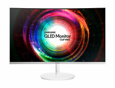 """Samsung CH711 27"""" Curved QLED Monitor"""