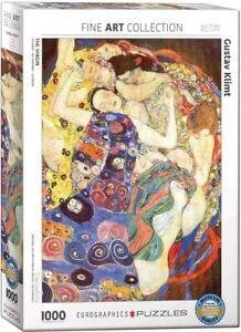 The Virgin - Gustav Klimt 1000 piece jigsaw puzzle 680mm x 480mm (pz)
