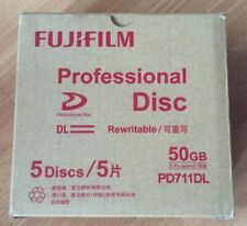 10 disques 50 gb Fujifilm XDcam neufs - double couche PD711DL - Dual Layer