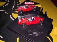 Quartzo 1/43 - Cooper-Ferrari T51 Gino Munaron French GP 1960 Certificate QFC025