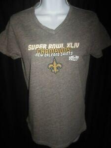 New Orleans Saints Women's Touch Superbowl XLIV Tee Shirt